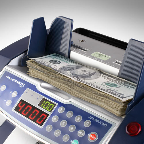 1-AccuBANKER AB 4000 UV/MG liczarka banknotów